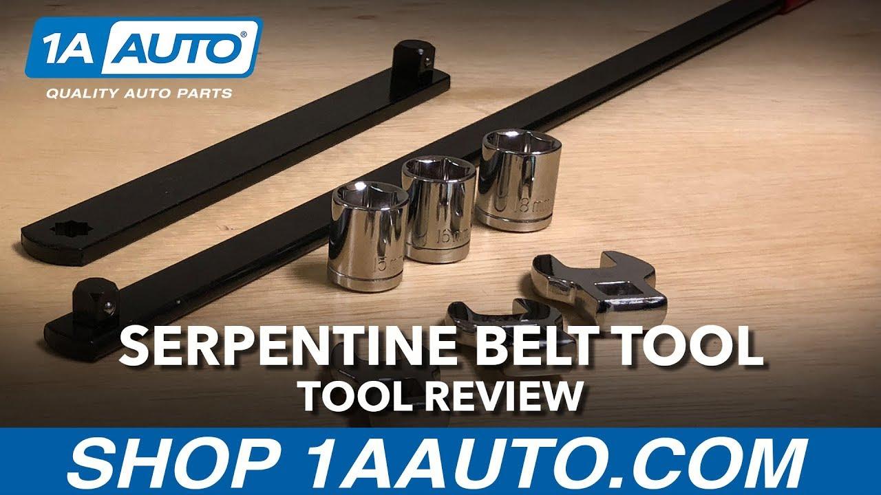 Serpentine Belt Tool Available on 1aautocom