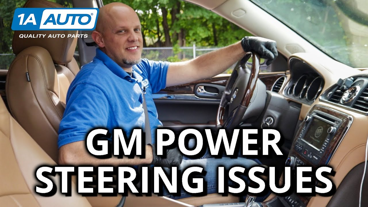 Hard Turning? Whining? Diagnose Power Steering in Your Car, Truck, SUV