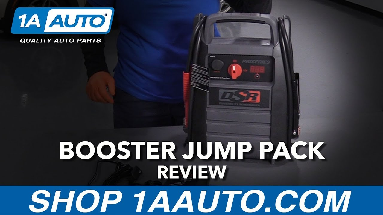 Booster Jump Pack With Power Inverter - Available at 1AAuto.com