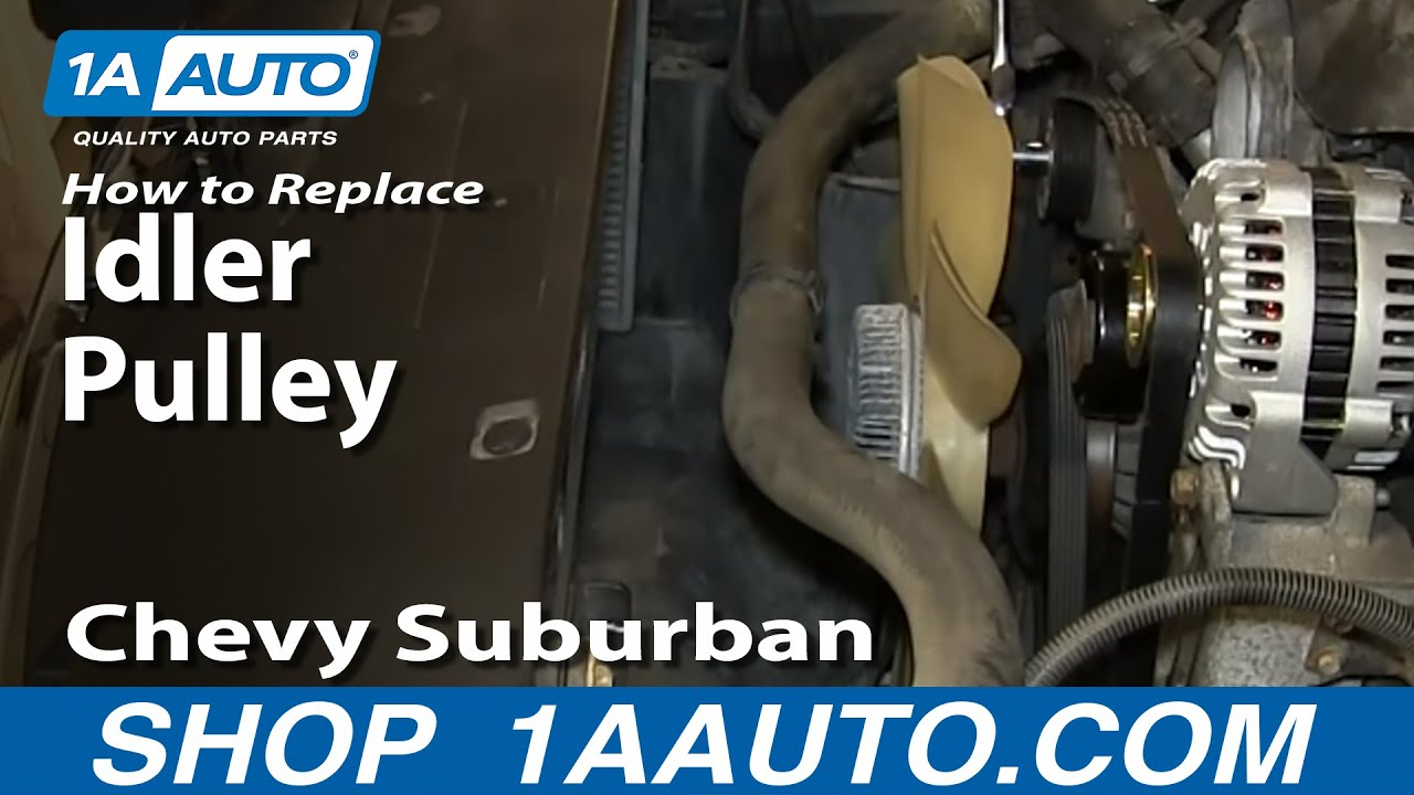 How to Replace Idler Pulley 00-08 Chevy Suburban