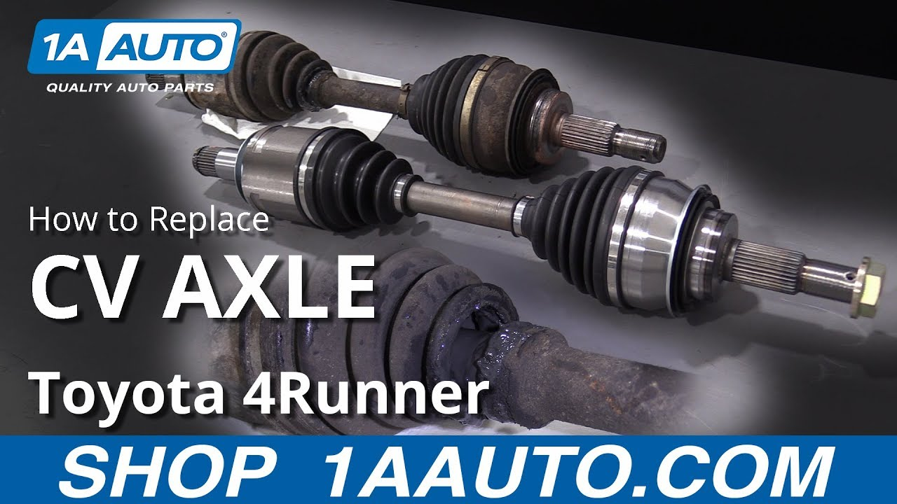 How to Replace Front CV Axle 03-09 Toyota 4Runner