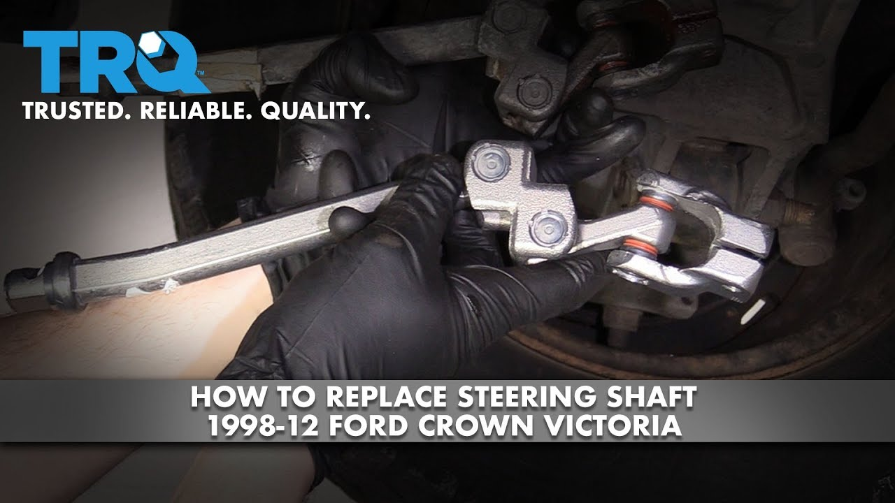 How to Replace Steering Shaft 1998-12 Ford Crown Victoria