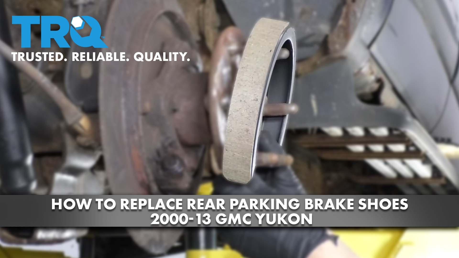 How to Replace Rear Parking Brake Shoes 2000-13 GMC Yukon