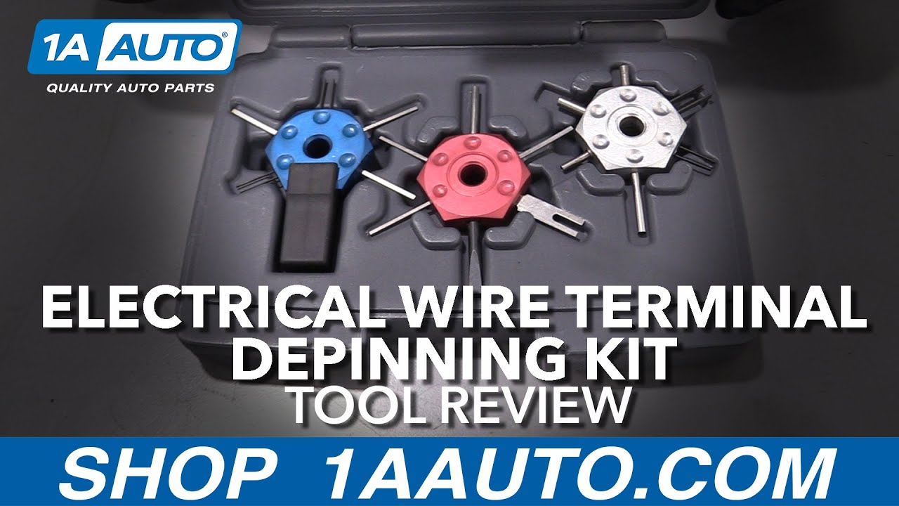 Electrical Wire Terminal Depinning Kit - Available at 1aauto.com