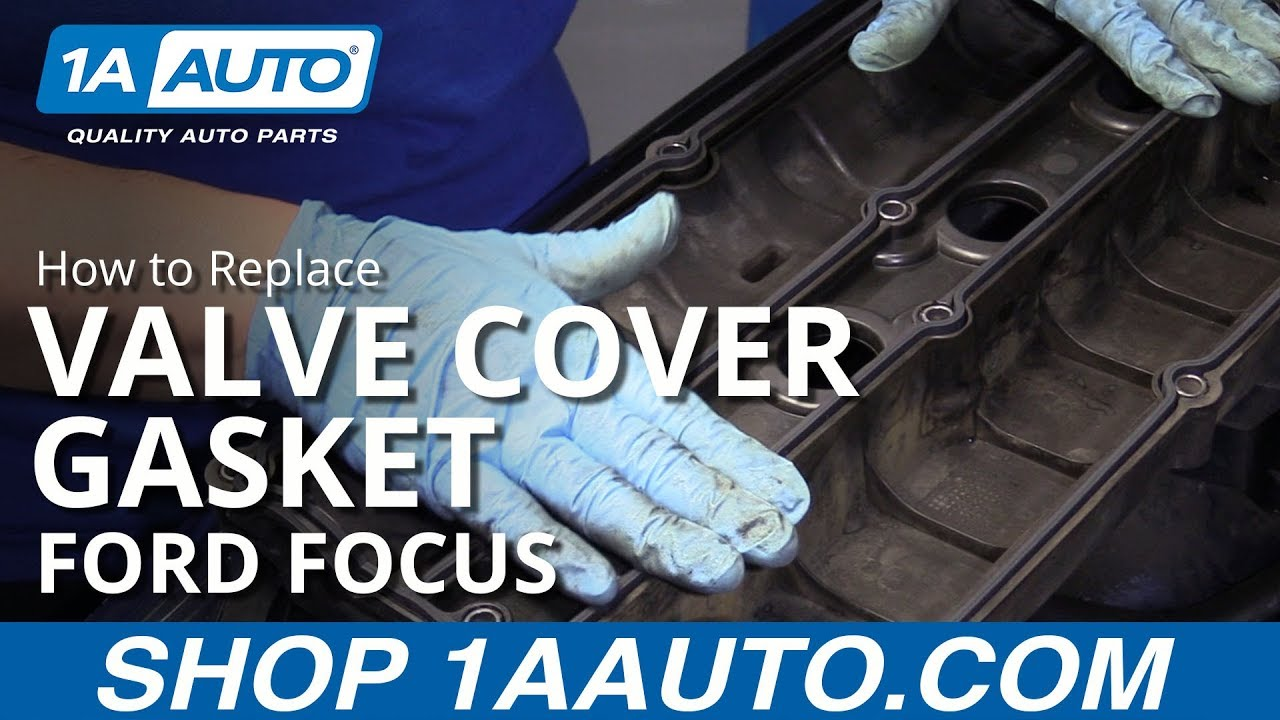 How to Replace Valve Cover Gasket 00-07 Ford Focus