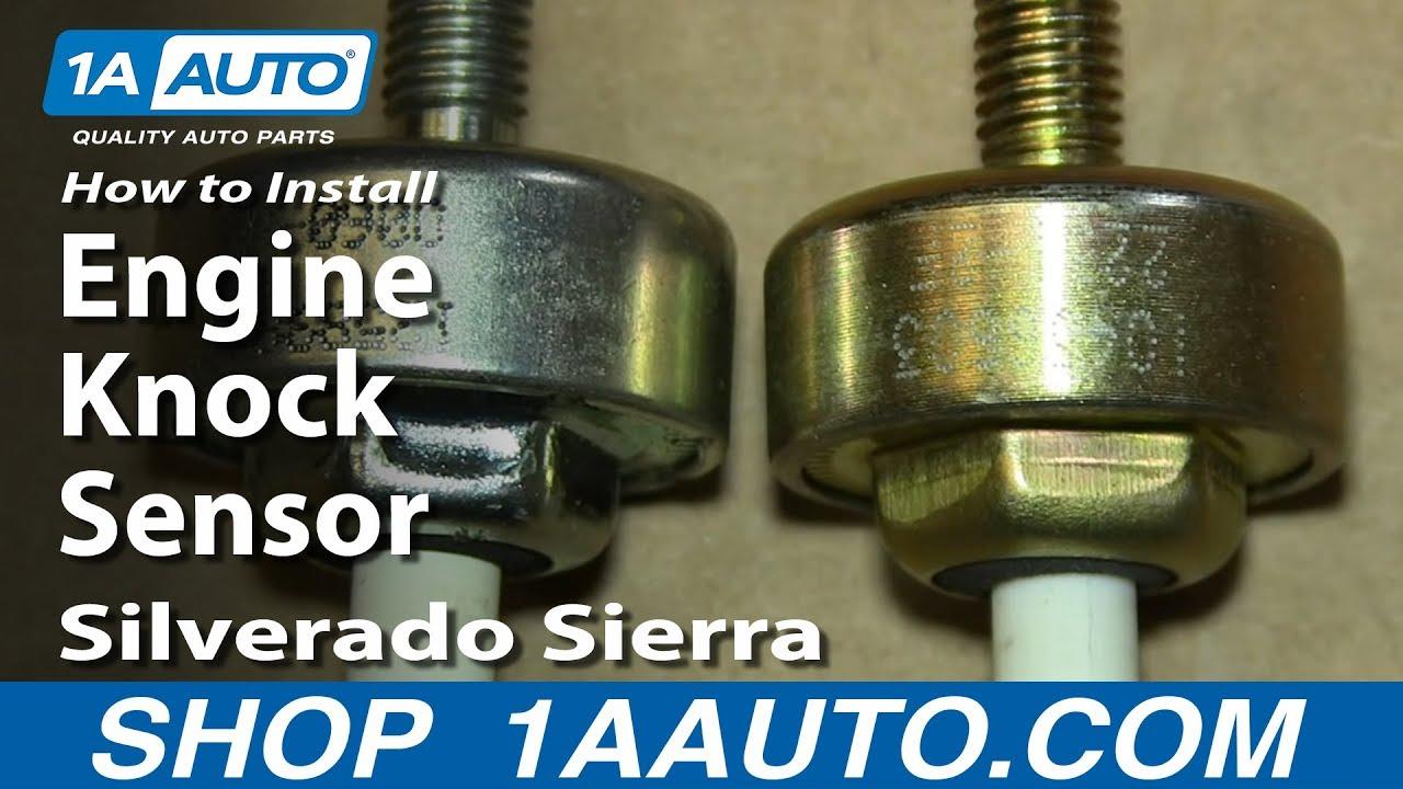 How to Replace Engine Knock Sensor 00-06 Chevy Suburban SUV