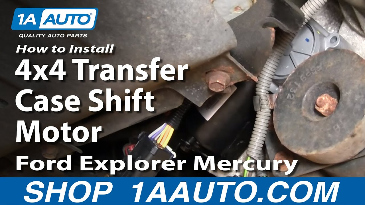automotive wiring harness replacement pins how to replace 4x4 transfer case shift motor 95 01 ford  how to replace 4x4 transfer case shift motor 95 01 ford