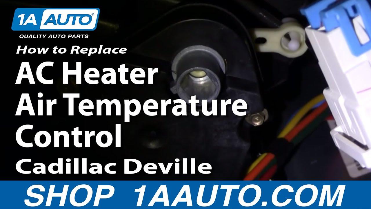 How to Replace Temperature Blend Door Actuator 96-99 Cadillac Deville