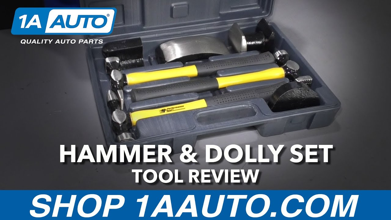 Hammer & Dolly Set - Available at 1AAuto.com