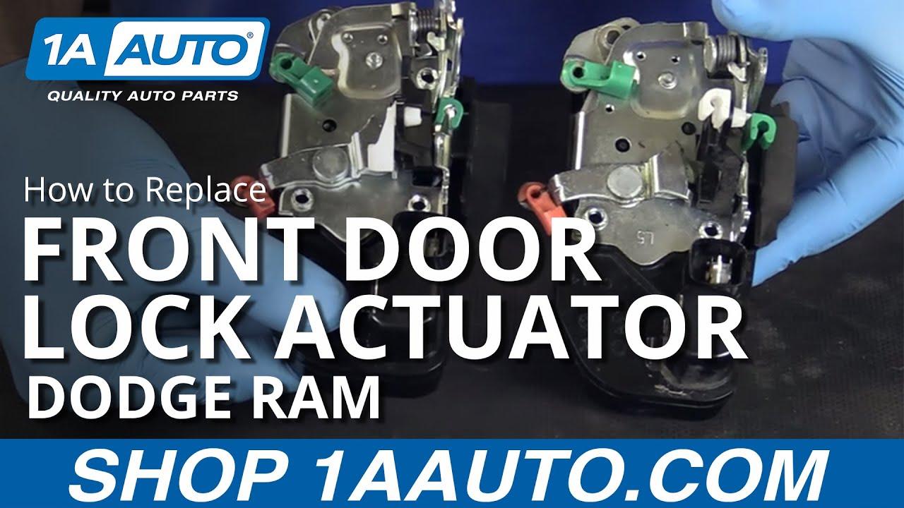 How to Replace Front Door Lock Actuator 03-08 Dodge Ram