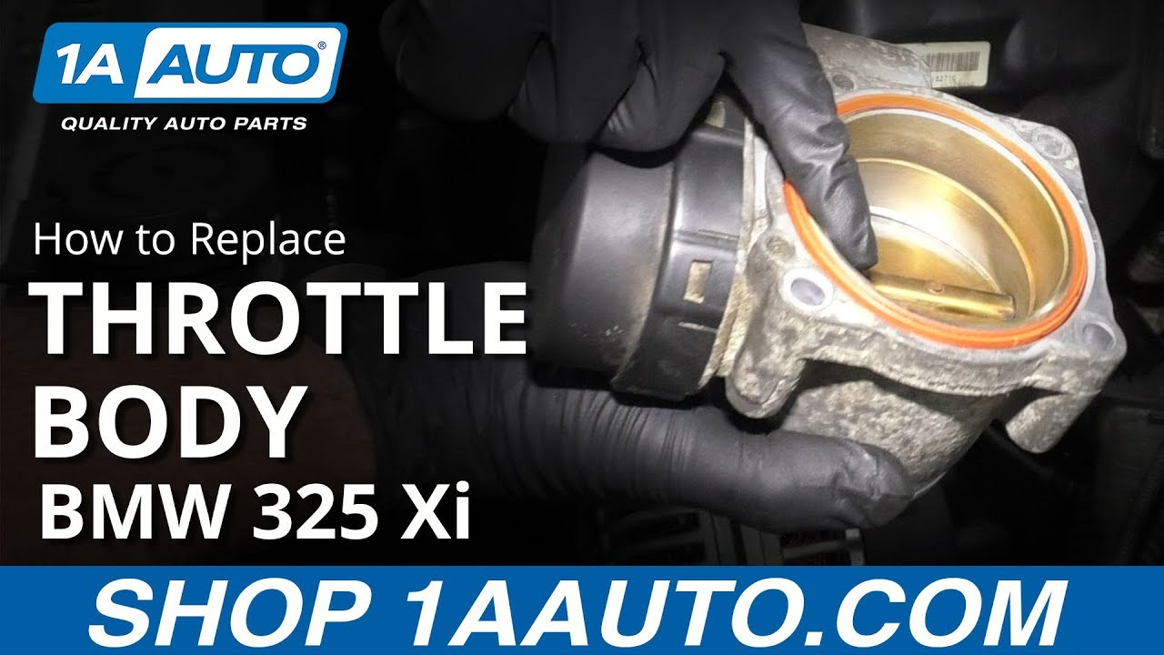 How to Replace Throttle Body 97-06 BMW 325 Xi