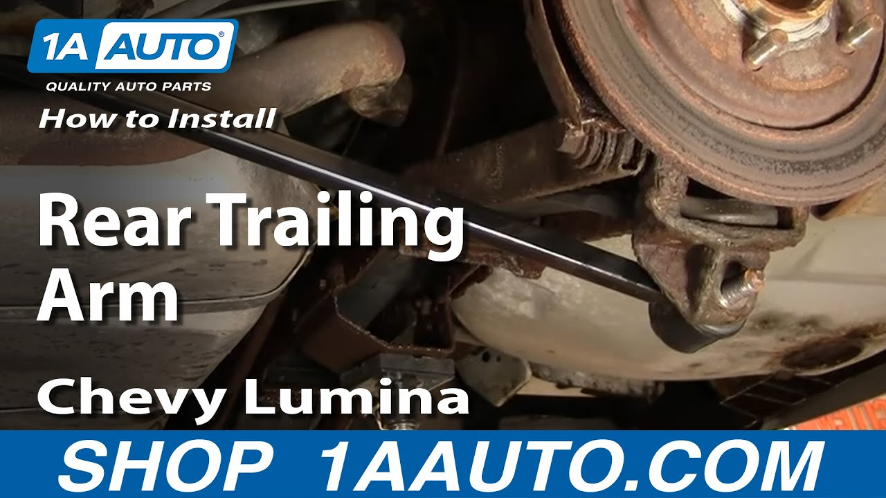 How to Replace Trailing Arm 90-00 Chevy Lumina
