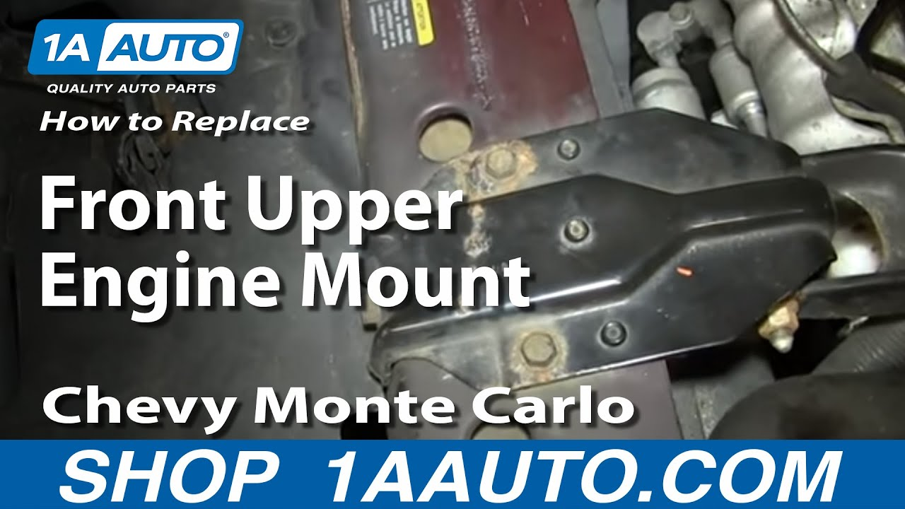 How to Replace Torque Strut Bracket Mount 95-05 Chevy Monte Carlo