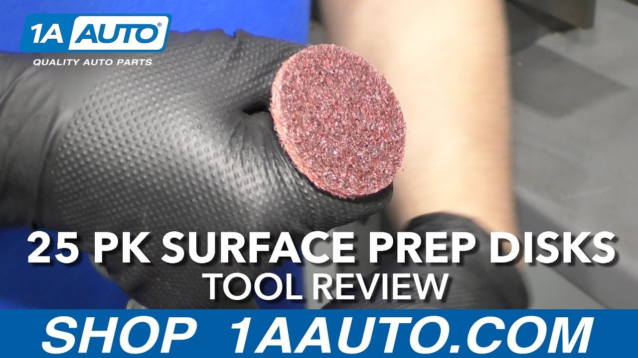 25 pk Surface Prep Disks - Available at 1AAuto.com