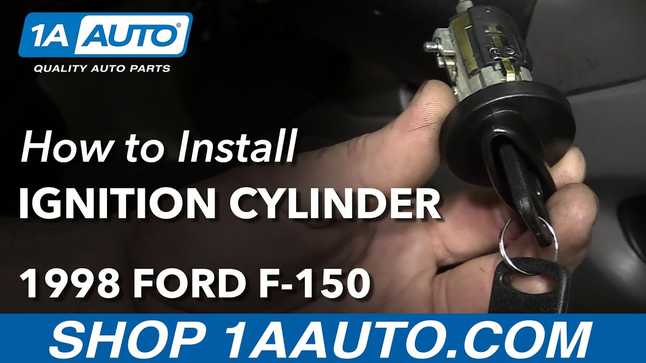 How to Replace Ignition Lock Cylinder 96-98 Ford F-150
