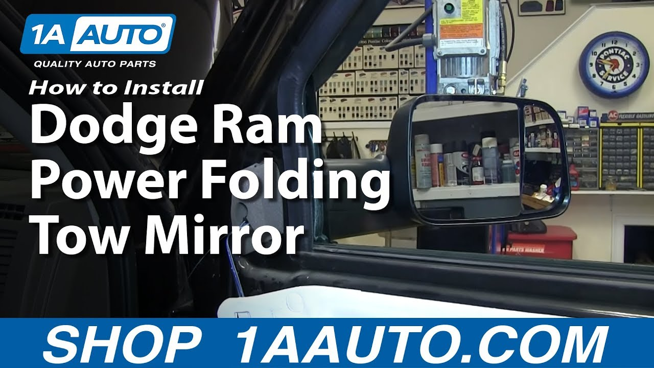 How to Install Power Folding Tow Mirrors 09-10 Dodge Ram 1500 | 1A  Flat Trailer Wiring Diagram Dodge Ram on 2005 dodge ram 1500 trailer wiring diagram, 2004 dodge ram 1500 trailer wiring diagram, 1999 ford explorer trailer wiring diagram, 2000 dodge ram 1500 trailer wiring diagram, 2006 dodge ram 1500 trailer wiring diagram, 2007 dodge grand caravan trailer wiring diagram, 2002 dodge ram 1500 trailer wiring diagram, 1998 dodge ram 1500 trailer wiring diagram, 1999 dodge ram 1500 trailer wiring diagram, 2003 dodge ram 1500 trailer wiring diagram, 2000 dodge grand caravan trailer wiring diagram, 1996 ford f250 trailer wiring diagram, 2008 dodge ram 1500 trailer wiring diagram, 1995 dodge ram 1500 trailer wiring diagram, 2007 dodge ram 1500 trailer wiring diagram, 2000 dodge neon trailer wiring diagram,
