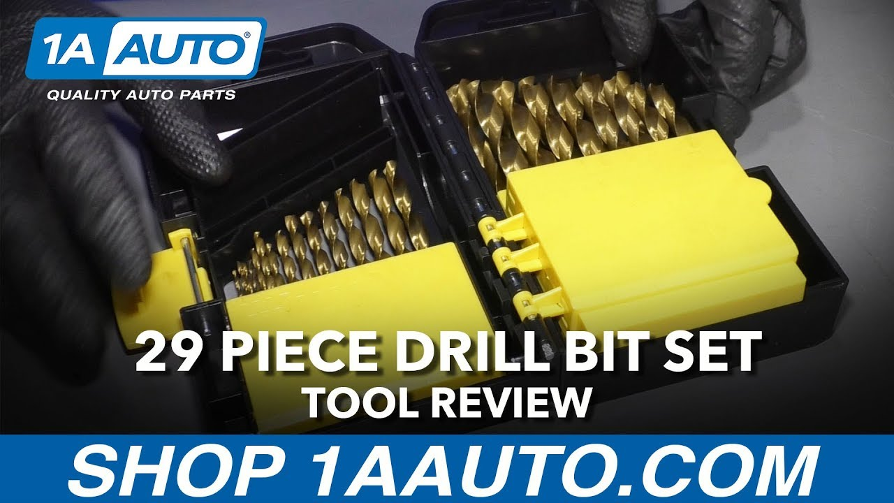29 Piece Drill Bit Set - Available at 1AAuto.com