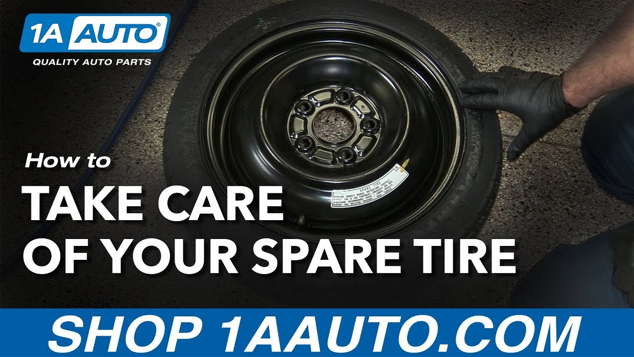 How to Take Care of the Spare Tire in your car