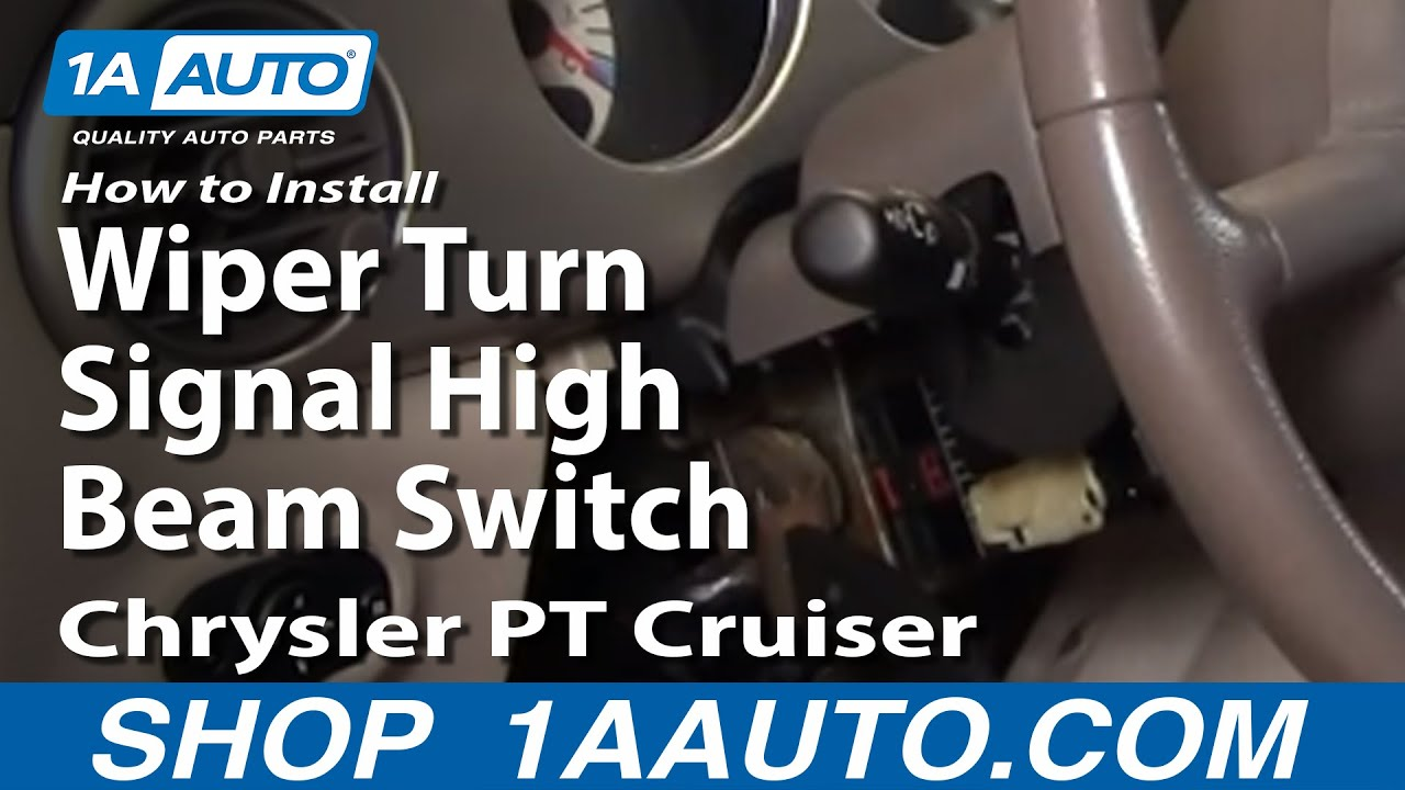 How to Replace Combination Switch 01-05 Chrysler PT Cruiser