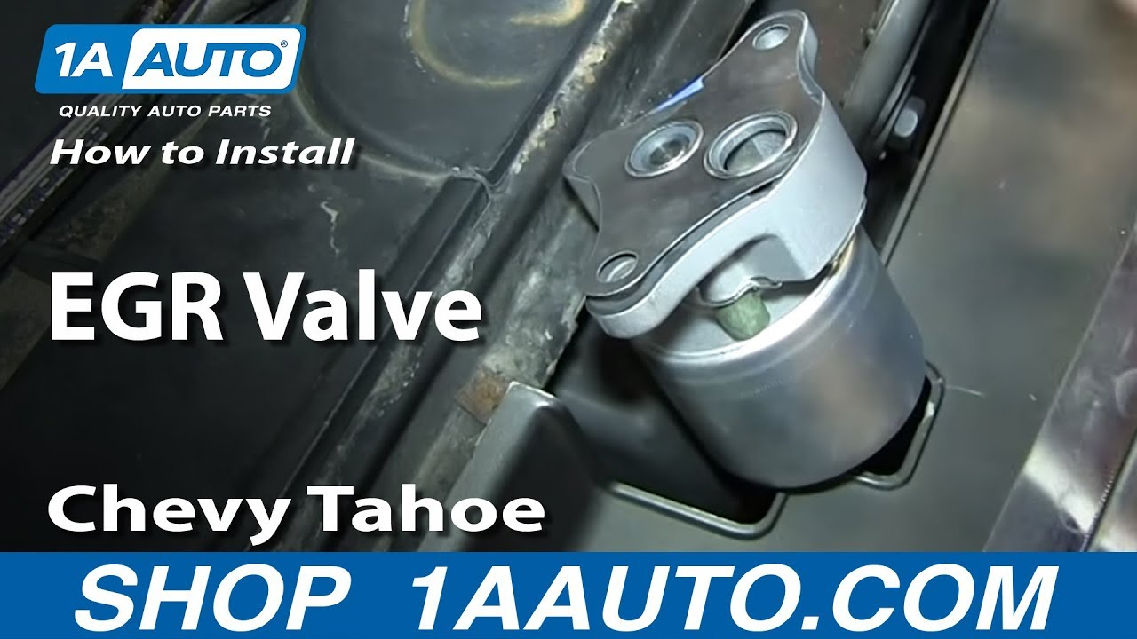 How To Replace Egr Valve 96 02 Chevy Tahoe
