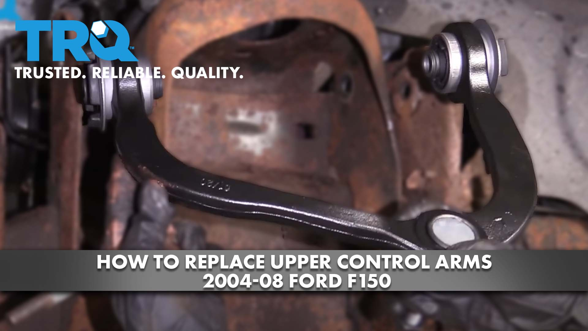 How to Replace Upper Control Arms 2004-08 Ford F150