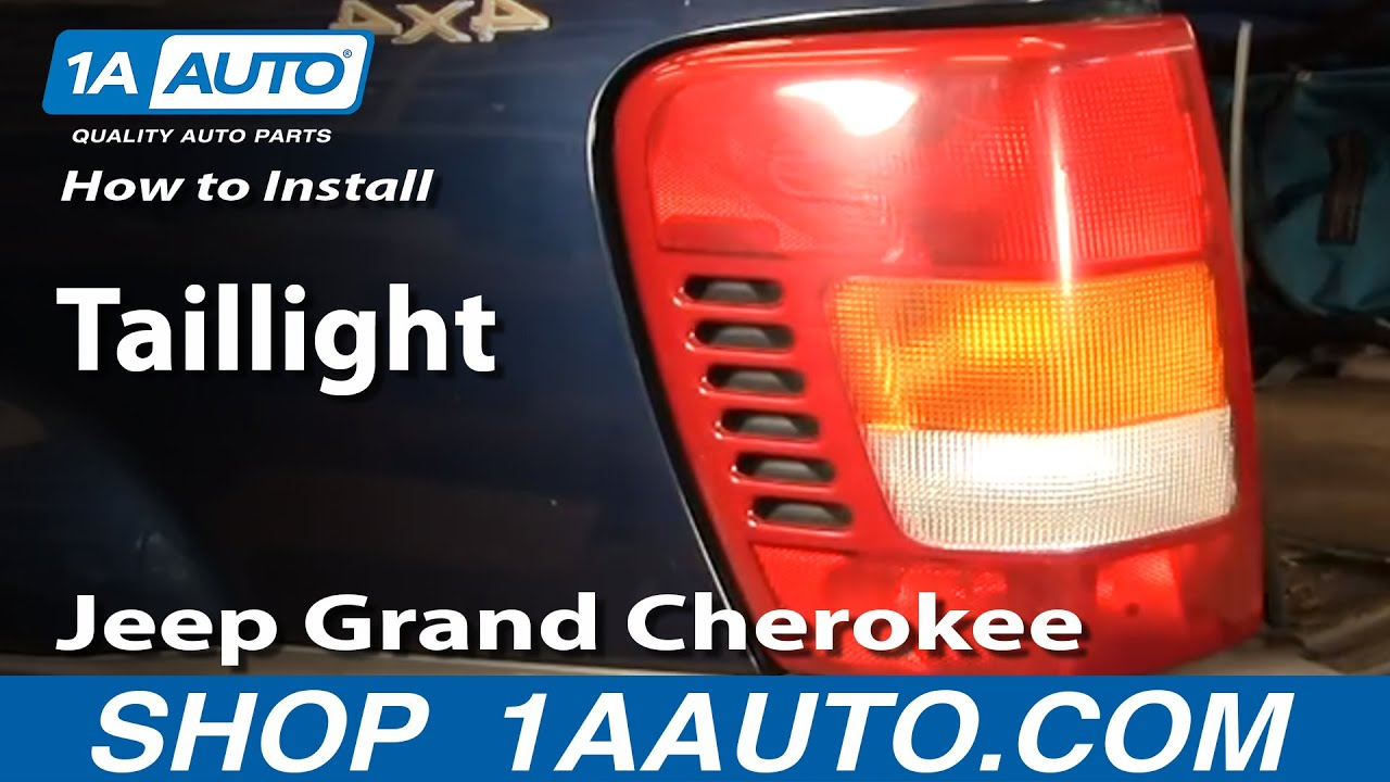 How to Replace Tail Light 03-04 Jeep Grand Cherokee