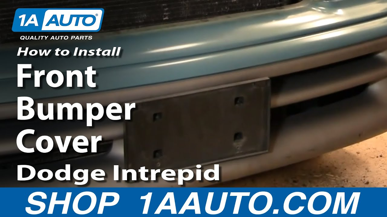 How To Remove Front Bumper Cover 93-97 Dodge Intrepid