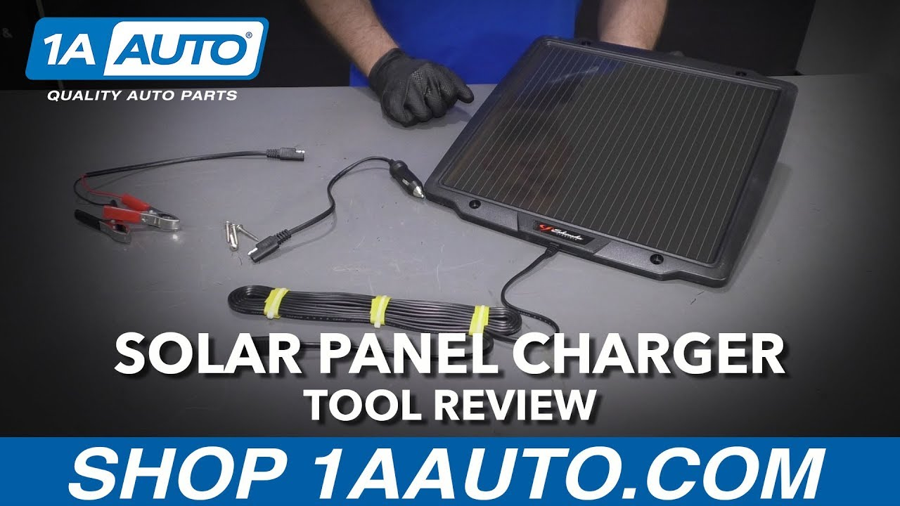 Solar Panel Charger & Maintainer - Available at 1AAuto.com