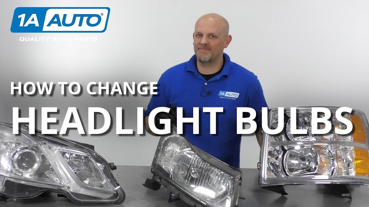How to Replace Headlight Bulbs on Any Vehicle