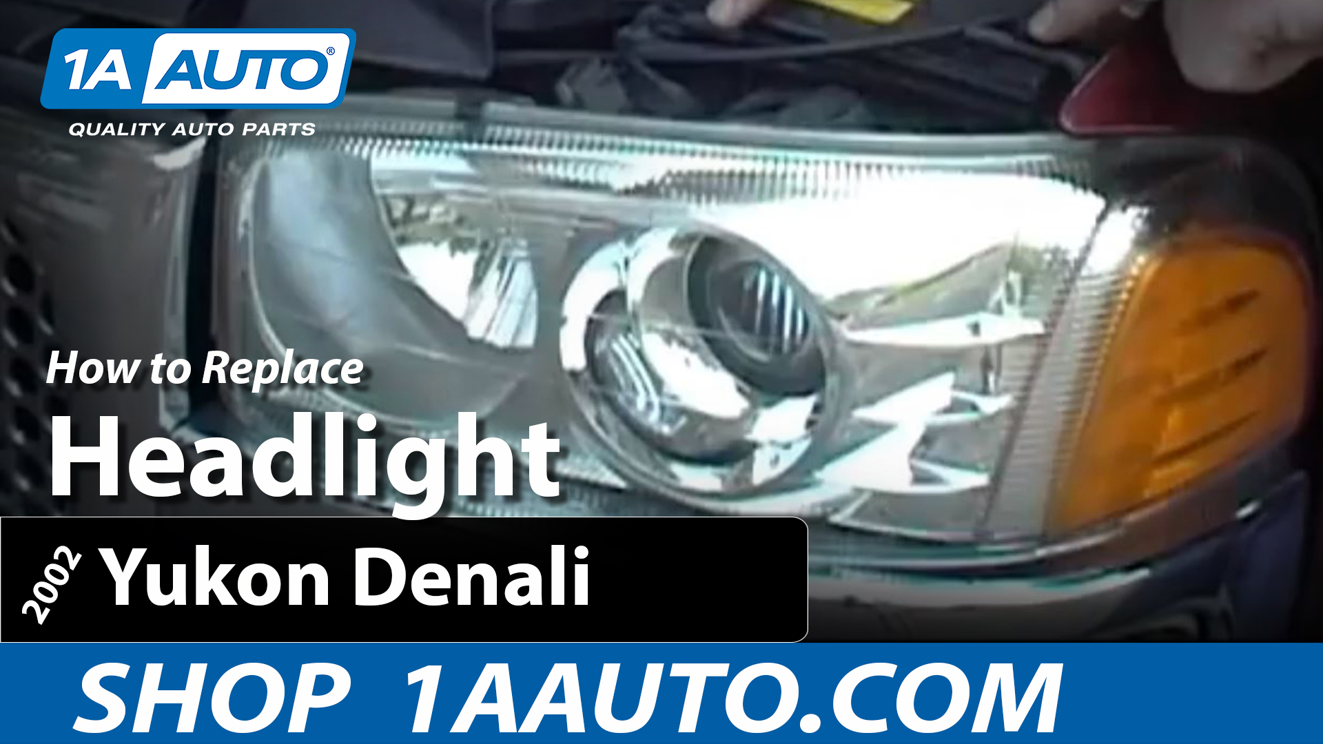 How To Replace Headlights 99-06 GMC Yukon