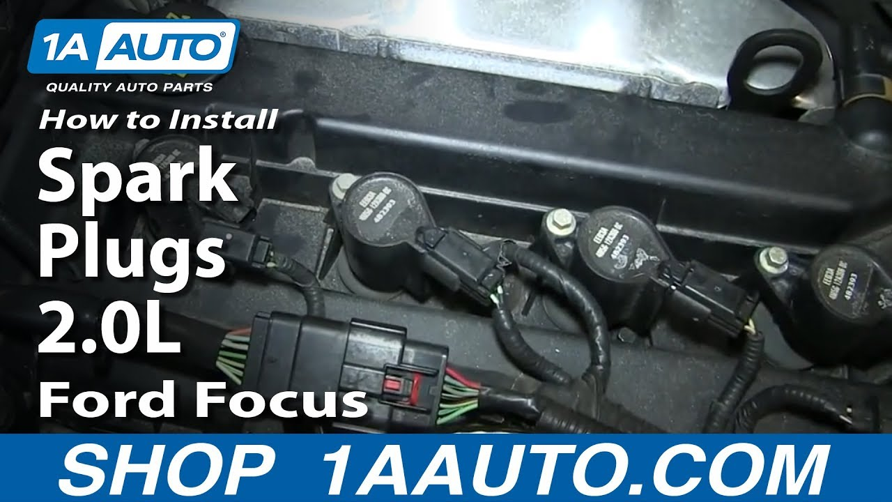 How To Replace Spark Plugs 00-07 Ford Focus 2.0L