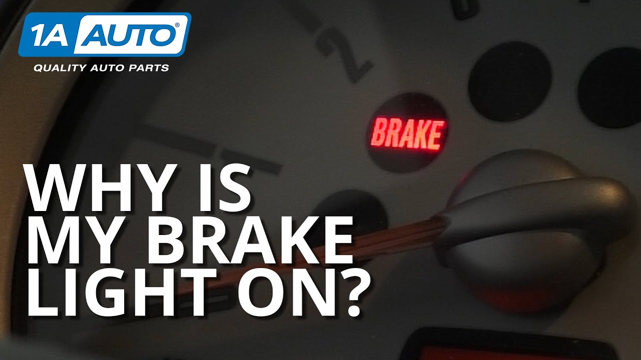 Why is My Brake Light On? Diagnosing Common Brake Failures!