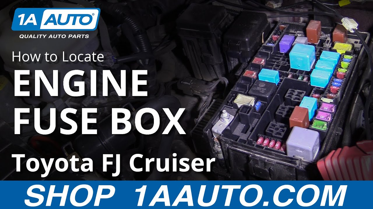 How To Locate Engine Fuse Box 07