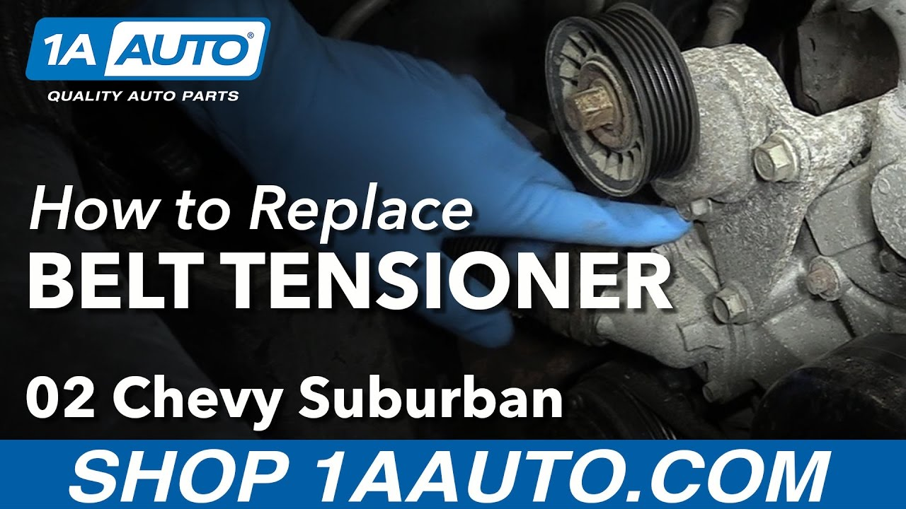 How to Replace Serpentine Belt Tensioner 02-06 Chevy Suburban 1500 V8 5.3L