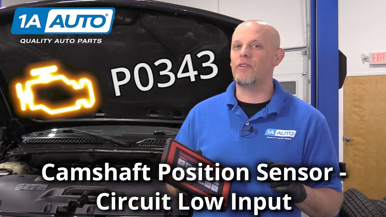 Check Engine Light? Camshaft Position Sensor Circuit High Input - Code P0343
