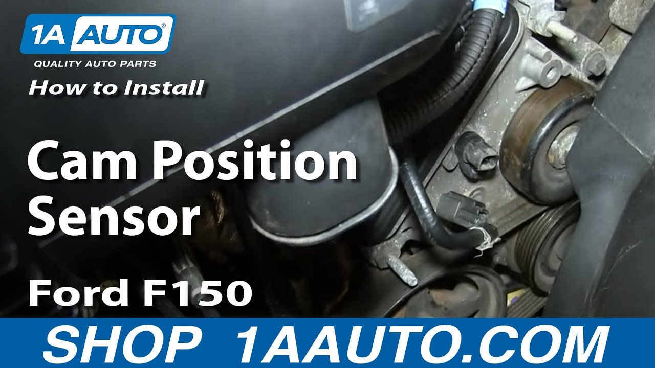How To Replace Cam Position Sensor 4 6L V8 Ford F150