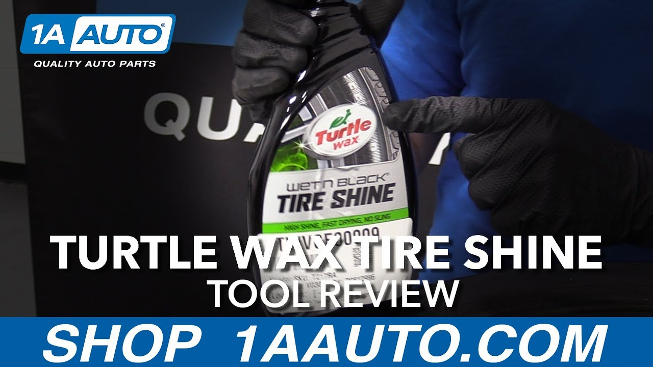 Turtle Wax Tire Shine - Available at 1aauto.com