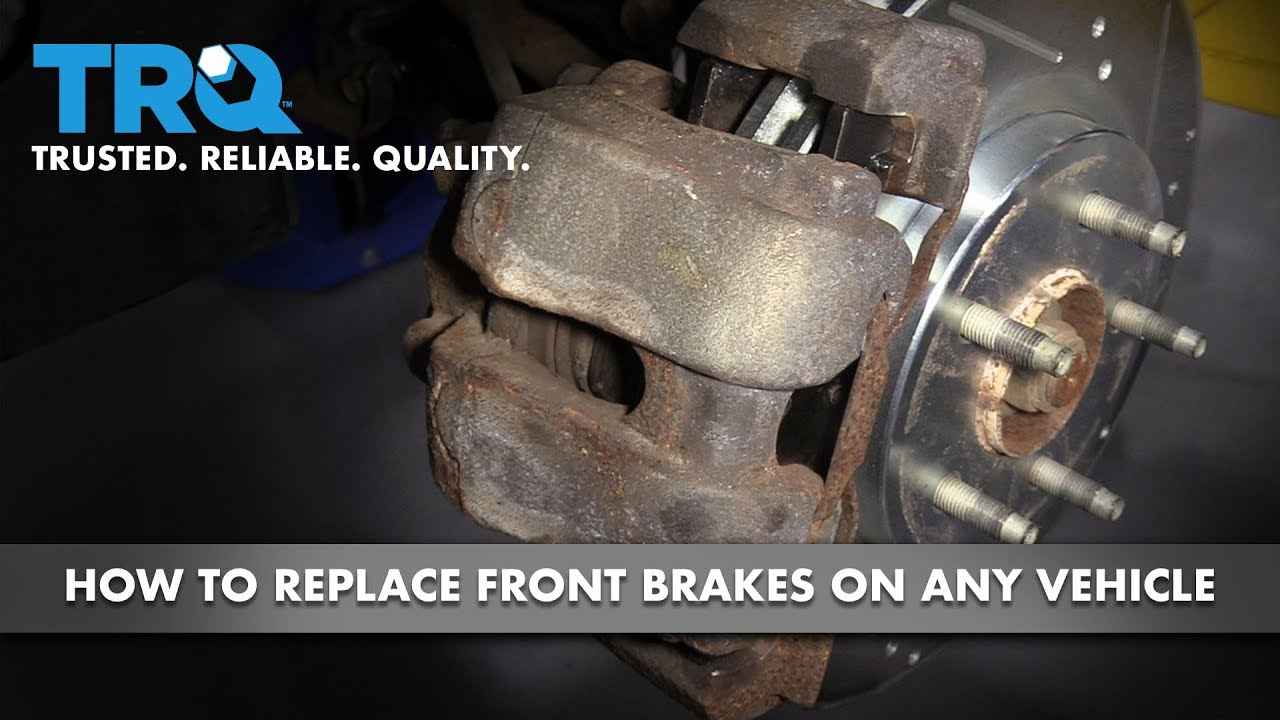 How to Replace Front Brakes on Any Vehicle