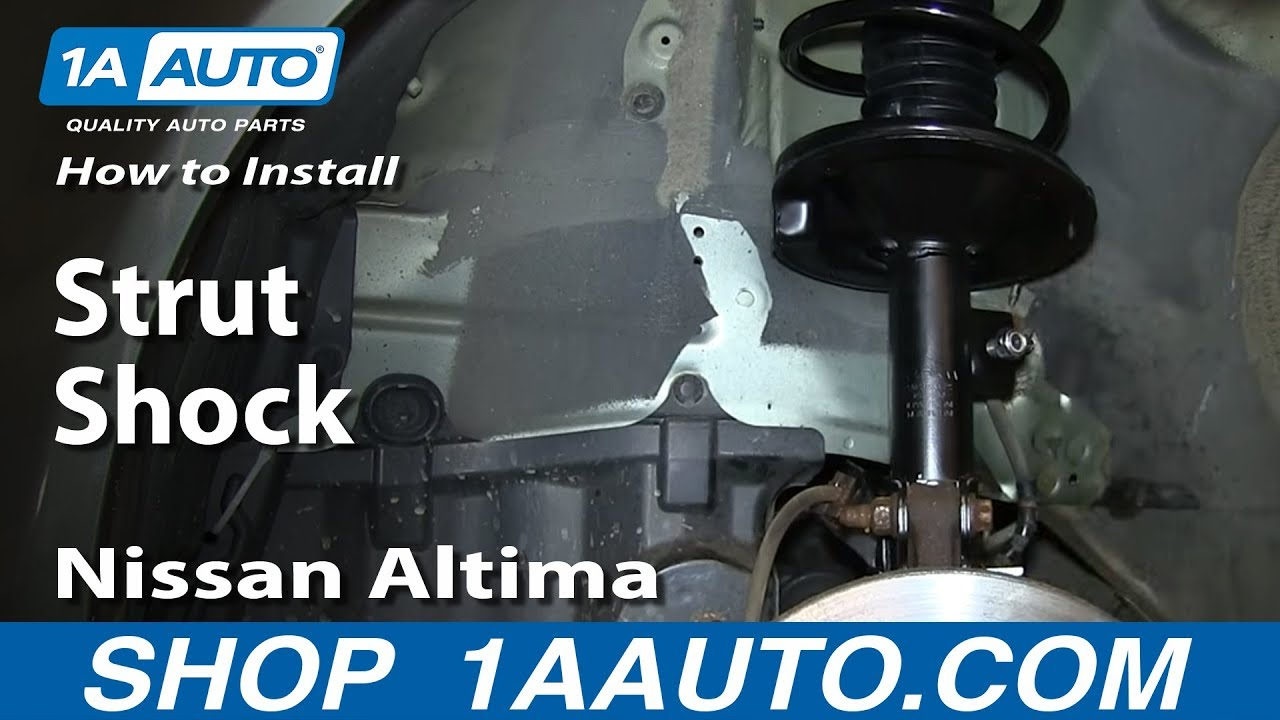 How to Replace Strut & Spring Assembly 02-06 Nissan Altima