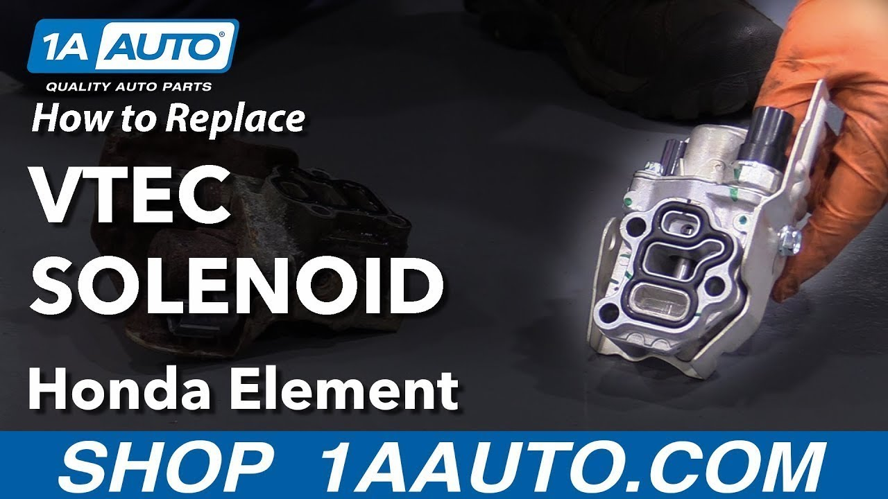 How to Replace VTEC Solenoid 03-11 Honda Element