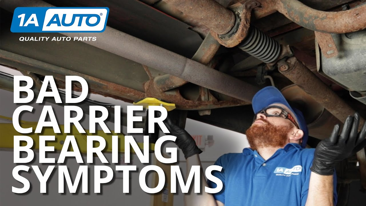 Truck Drive Train Noises Check the Drive Shaft Carrier Bearing