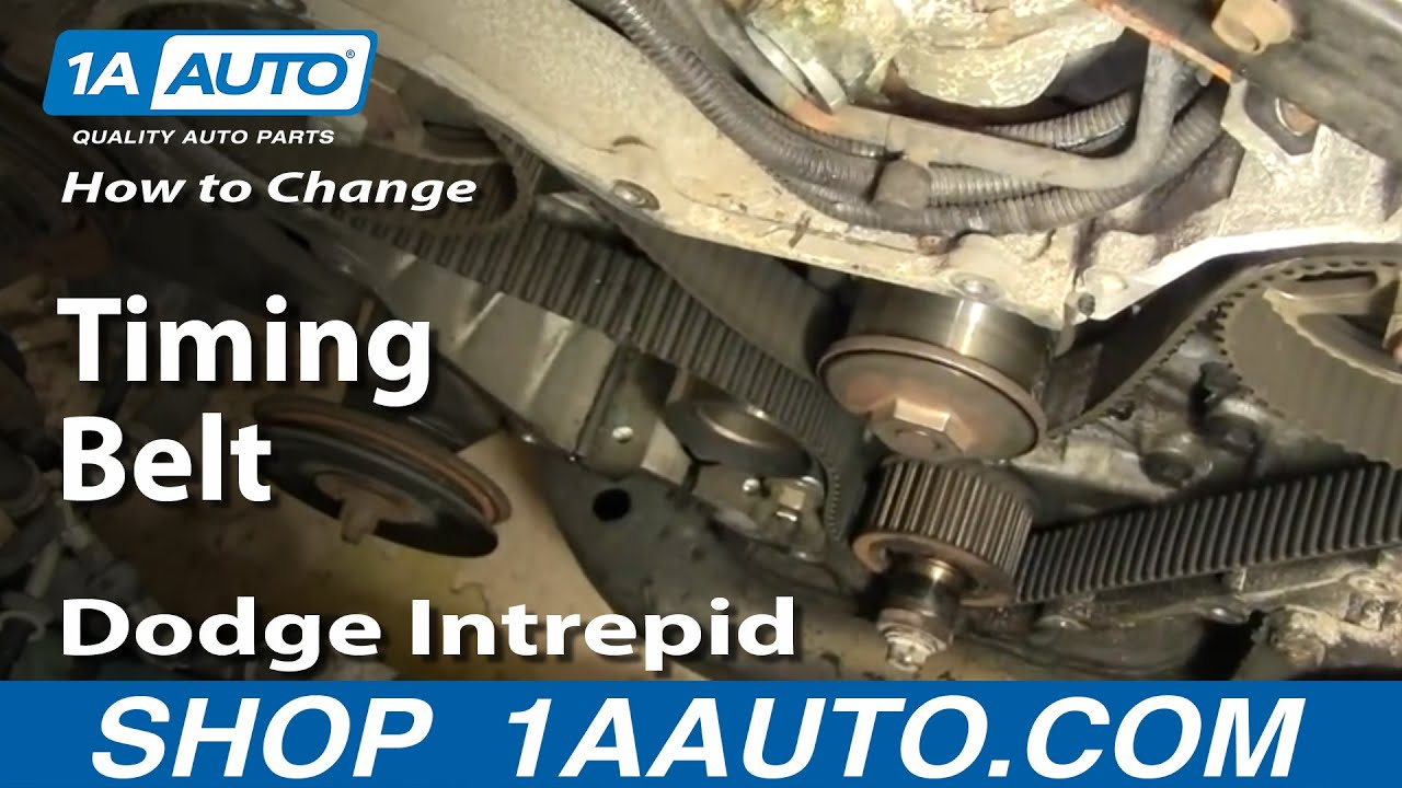 How To Replace Timing Belt Part 1 95-97 Dodge Intrepid