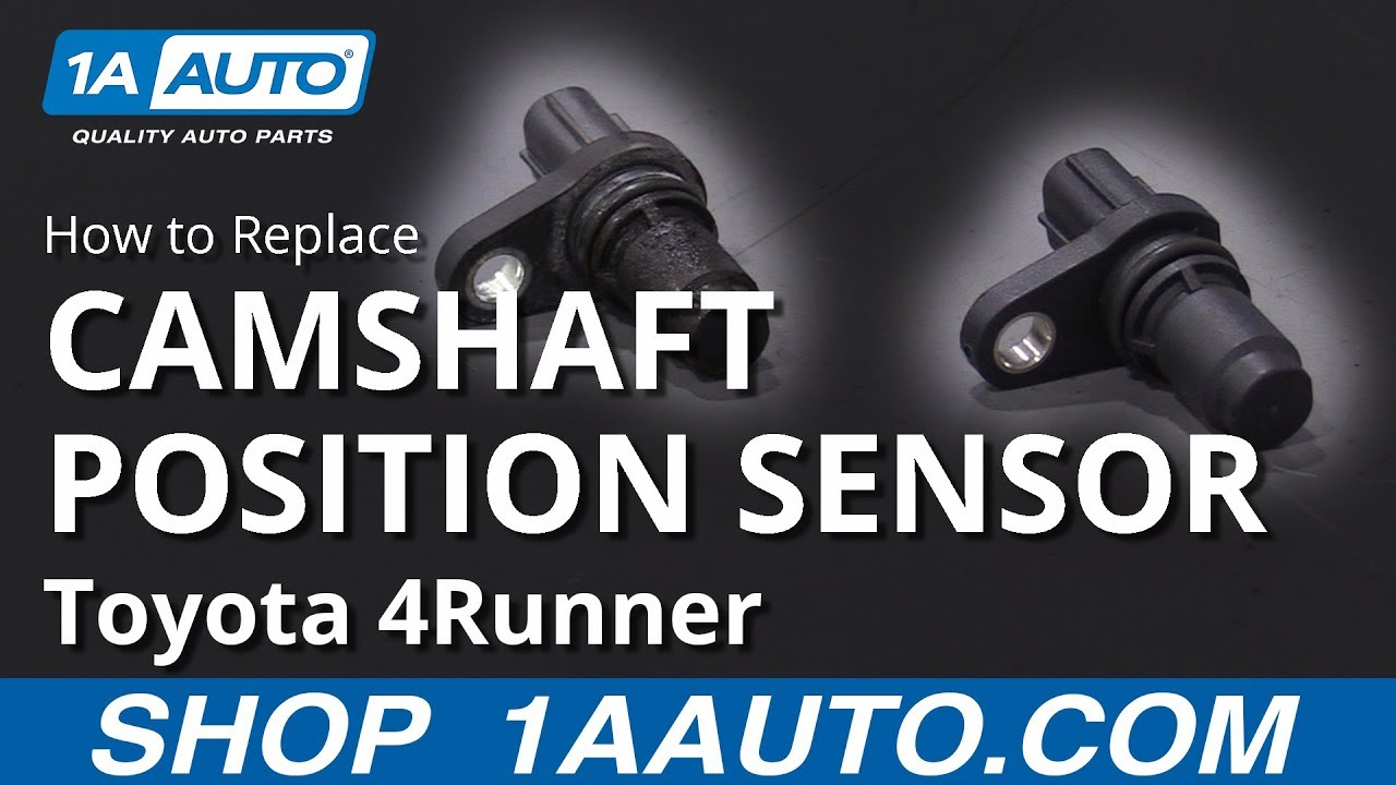 How to Replace Camshaft Position Sensor 03-09 Toyota 4Runner