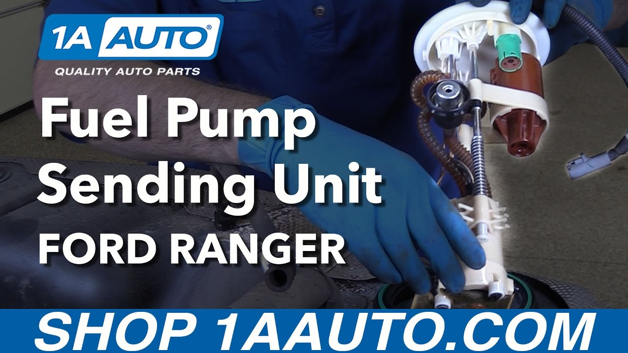 How to Replace Fuel Pump Sending Unit Module 98-12 Ford Ranger