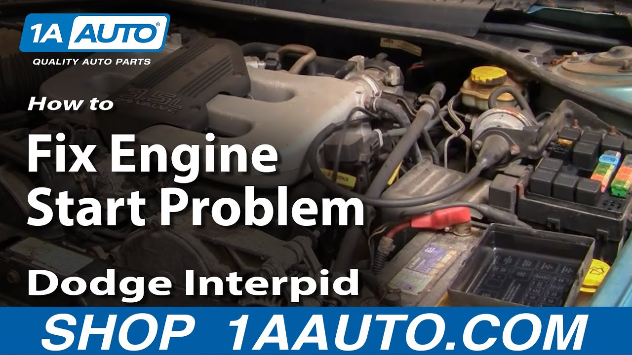 How to Fix Engine Start Problem 93-97 Dodge Intrepid