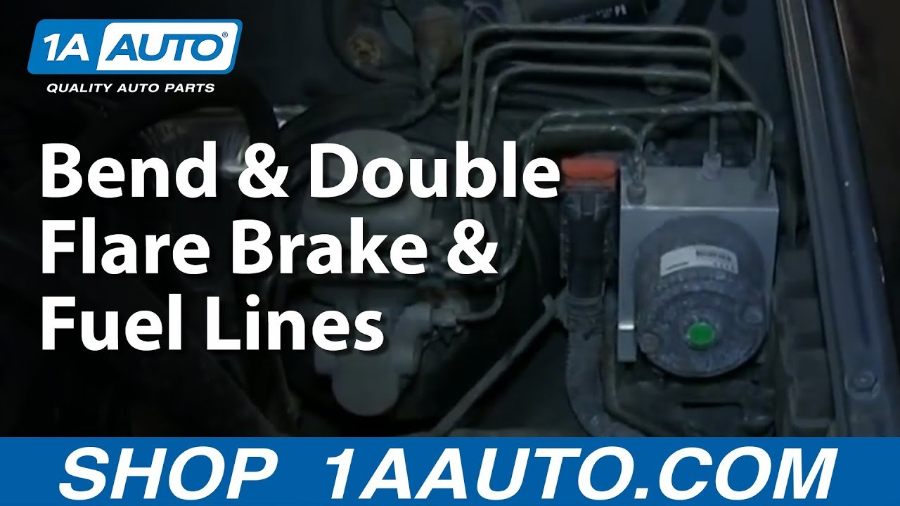How To Bend & Double Flare Brake & Fuel Lines