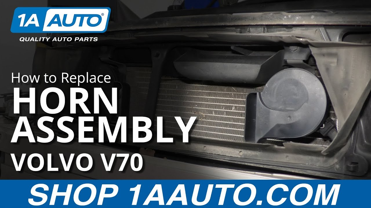 How to Replace Horn Assembly 00-07 Volvo V70