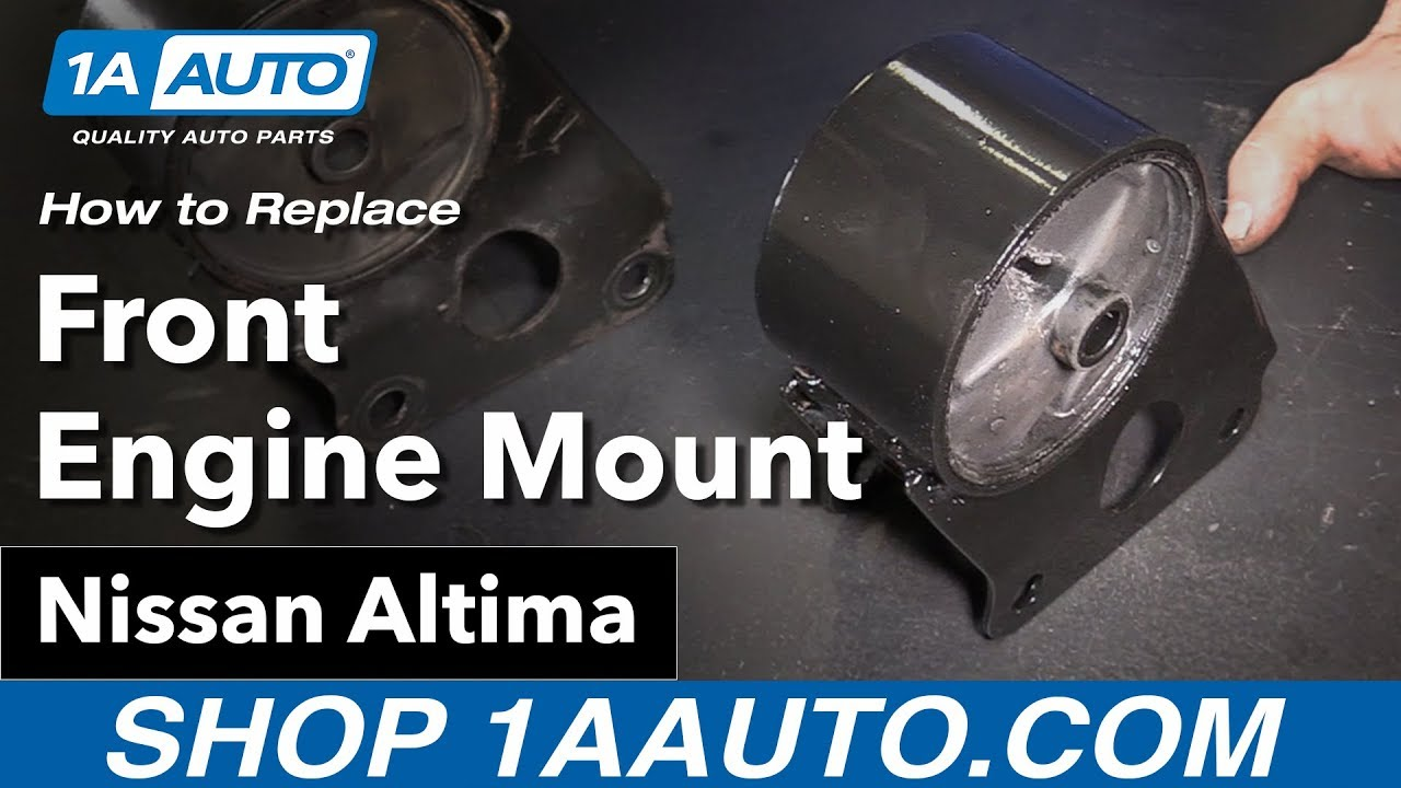 How to Replace Front Engine Mount 02-06 Nissan Altima
