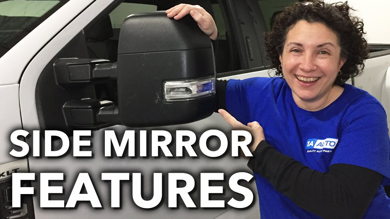Car Truck  SUV Side Mirror Features