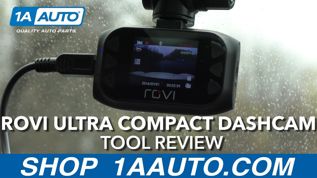 Rovi Ultra Compact Dashcam - Available at 1AAuto.com